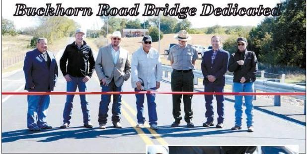 Buckhorn Road Bridge Dedicated