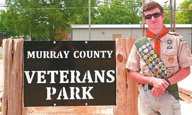 Sulphur Scout Completes Eagle Project With Downtown Work At Veterans Park