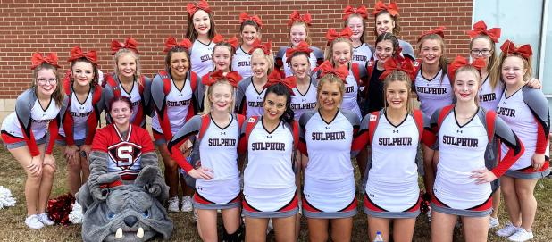 Sulphur Cheer Team Qualifies For State Meet