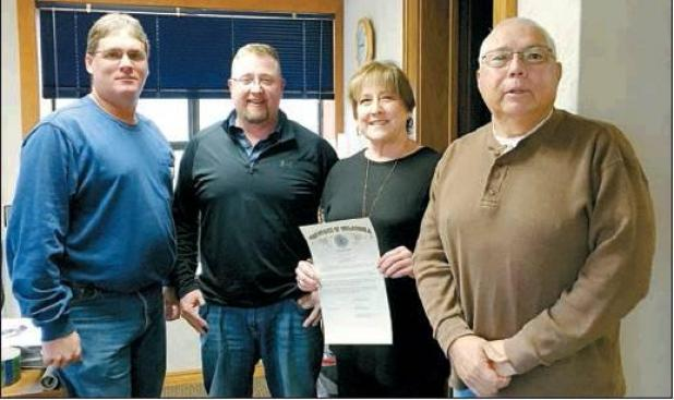 Longtime County Worker Honored