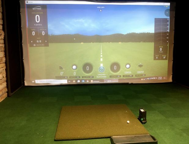 New Indoor Golf Practice Facility Unveiled