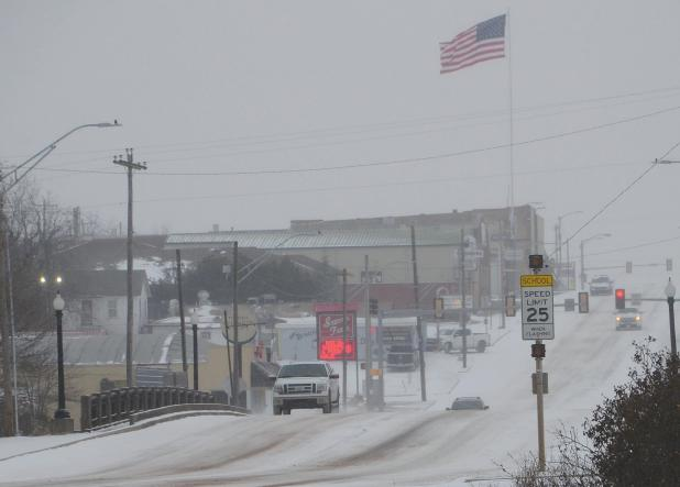 Record Cold Temps, Snow, Rolling Blackouts Hit Area