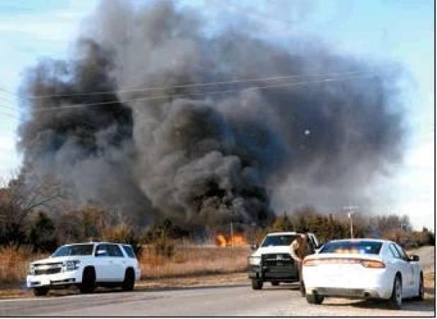 Area Fires Burn Multiple Acres