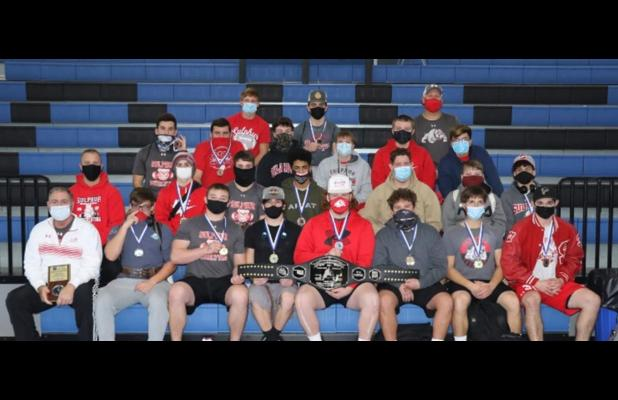 Dog's State Champion Lifters Win First Meet