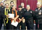 Local Karate School Hosts Belt Testing