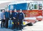 New Fire Truck Welcomed By Sulphur Firefighters